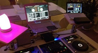 modernes Equipment von DJ Jan Kattenbusch